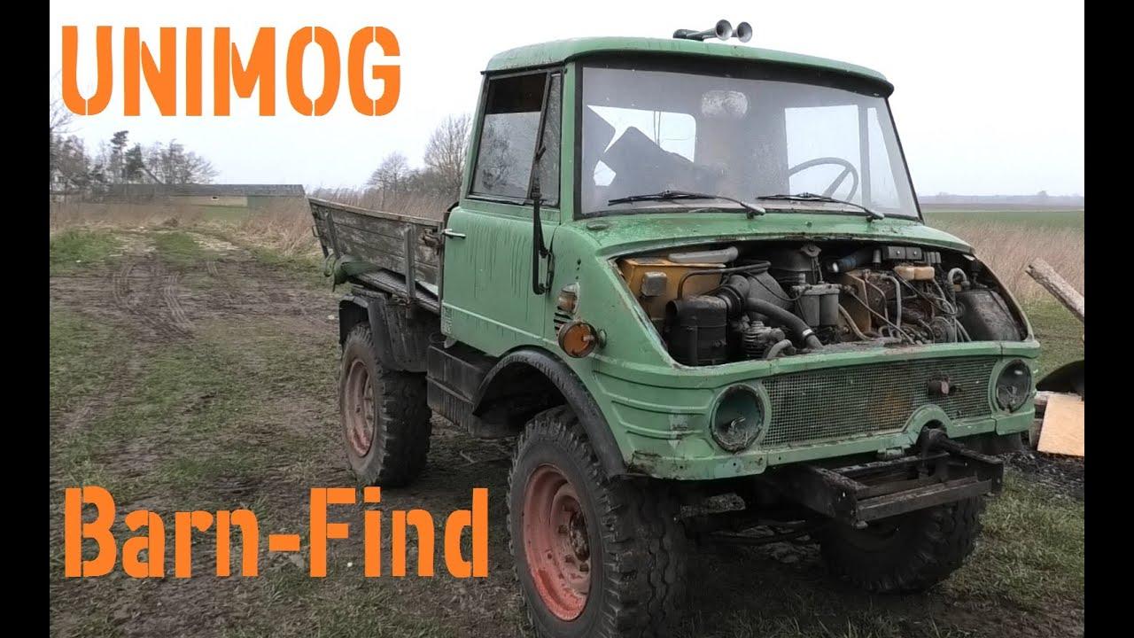 Unimog Barn-Find. part 1 - Will it start?