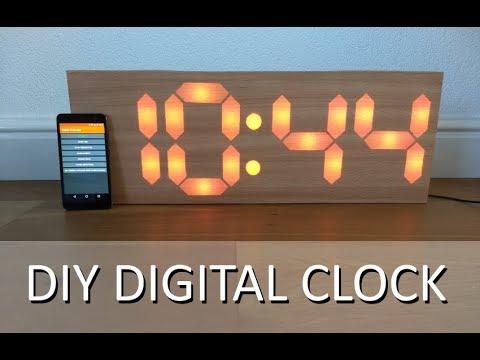 DIY 7 Segment Digital Clock