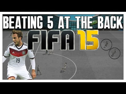 FIFA 15 Attacking Tutorial   How to Beat 5 Defender Formations   The Best FIFA Guide