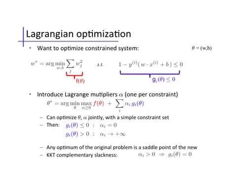 Support Vector Machines (2): Dual & soft-margin forms