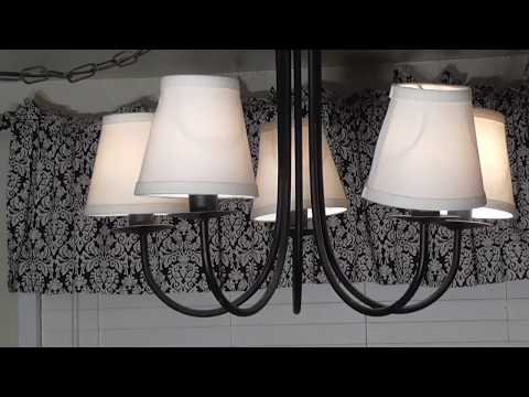 DIY Light Overhead Cieling Fixture Chandelier Removal