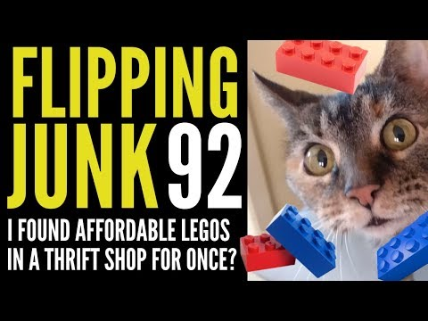 Flipping Junk [92] The Reselling Grind Continues, Buy Low Sell High at Thrift Stores