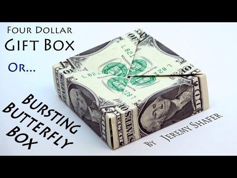 Bursting Butterfly Gift Box