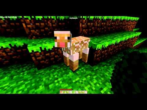 mine craft how to make a green sheep + green wool