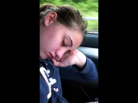 How not to sleep in the car