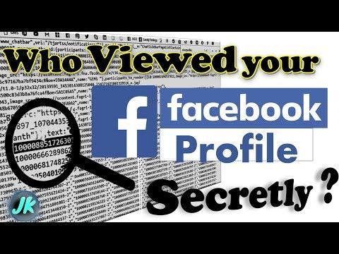 Secret Facebook profile visitors   who viewed my fb profile