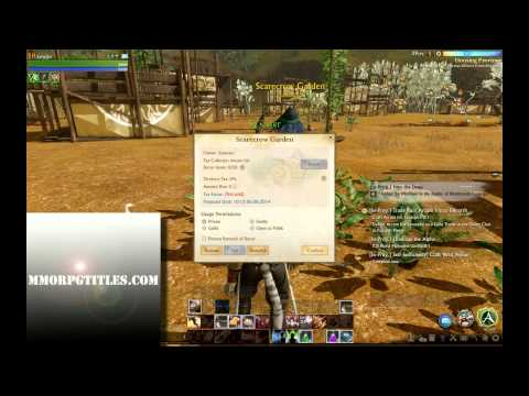 ArcheAge How  To Make A Tax Certificate HD