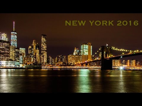 New York 2016 - Times Square, Statue of Liberty, Rockefeller center, Trump tower