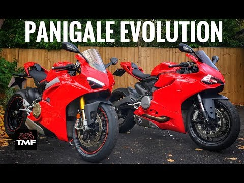 An anoraks guide to the changing beauty of the Ducati Panigale