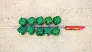 Rocket VS 10 Sutli | Crazy Diwali Experiment |