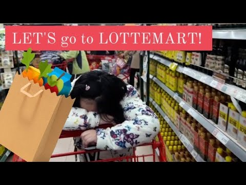 Grocery time at Lotte Mart in Seoul | thea the vlogger