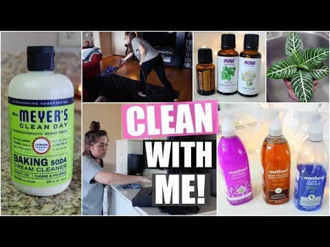 CLEAN WITH ME! My Cleaning Routine | 2018