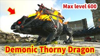 """ARK: Valguero Online #04 - """"Demonic Thorny Dragon"""" Cuối Cùng Mình Cũng Có, Max Level 600 Luôn 😋"""
