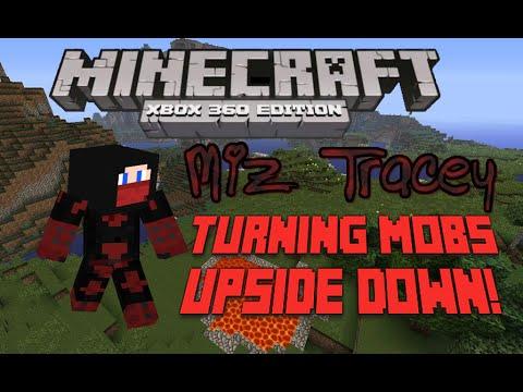 Minecraft Xbox 360- Turning mobs upside down TU22 Glitch -No Mods!