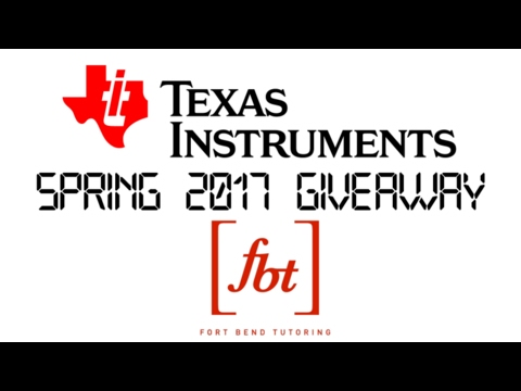 Texas Instruments Spring 2017 Giveaway  (TI-Nspire CX CAS) [fbt] (Closed)