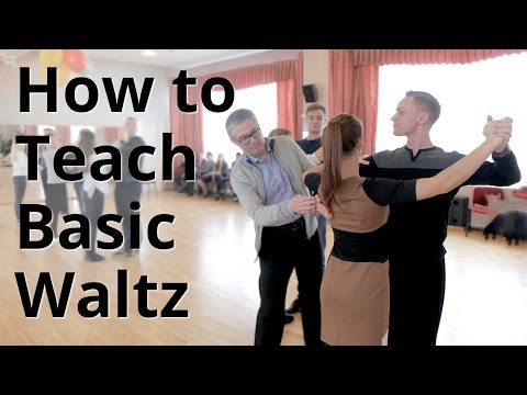 Workshop - How to do Basic Waltz for Beginners| Ballroom Dance