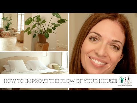 FENG SHUI | HOW TO IMPROVE THE FLOW OF YOUR HOUSE (ft. Marianne Gordon)
