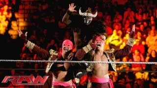Los Matadores vs. 3MB: Raw, Sept. 30, 2013