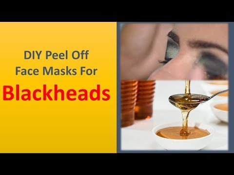 How To Make Blackhead Remover Peel Off Mask At Home - Diy Peel Off Face Masks For Blackheads