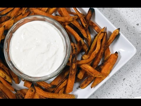 Jersey Fresh Sweet Potato Fries with Horseradish Dipping Sauce