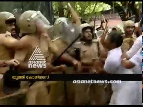 Conflict in the youth congress protest on Kevin Murder Case