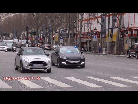 Paris police :Ford Mondeo responding.