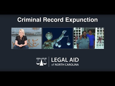 Criminal Record Expunction