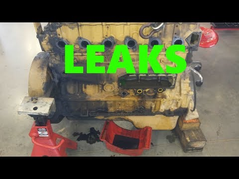 Why Do Diesels Leak So Much?  Why Do Diesel Engines Leak So Much Oil?