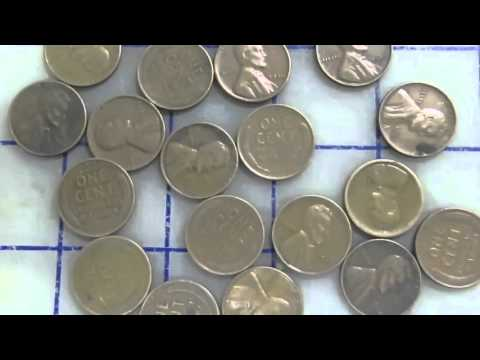 How to clean coins, and then store them for a long period of time.