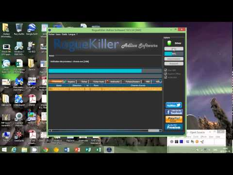 Windows 8.1 Virus Malware and Rootkits removal 101 Adlice Software RogueKiller utility