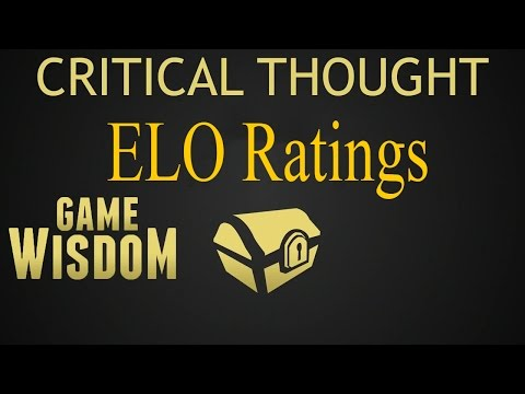 A Critical Thought on ELO Rating Systems