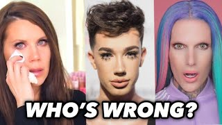 Reacting to Jeffree Star vs James Charles vs Tati Westbrook Drama/Who's Wrong?