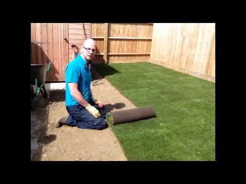 How to lay turf - a new lawn