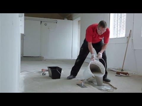 How to repair a hole in concrete with a pourable compound | Watco