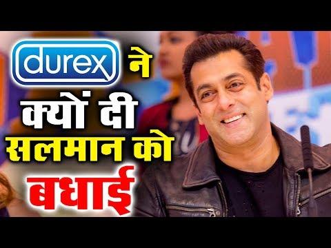 Durex Condom Company Congratulates Salman Khan - Know Why