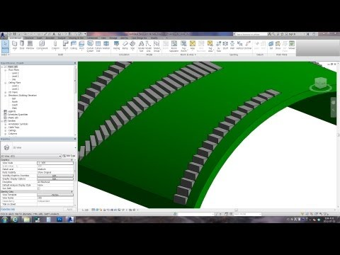 Revit Tips - Adaptive Stairs #1