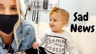 Urgent Care visit! Sad news about Layla's eye!