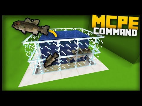 MCPE - How to Make a WORKING AQUARIUM!