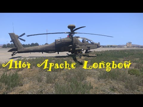 Arma 3 AH64D Apache Longbow - Starting up Tutorial/Flying