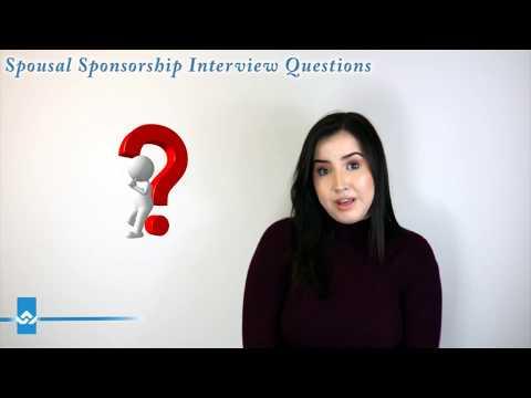 Spousal Sponsorship Interview Questions