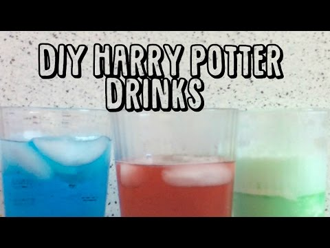 DIY Harry Potter Drinks🎉