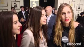Download Haim: The 2015 GRAMMYs Red Carpet Video