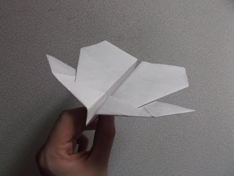 How to make the Condor paper airplane