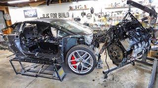 Junkyard LS Truck Engine Hunting & Teardown for the Lamborghini Huracan