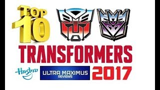 Top 10 Transformers 2017
