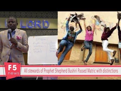 All stewards of Prophet Shepherd Bushiri Passed Matric with distinctions