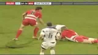Leeds Rhinos 18-20 Wigan Warriors - Phil Bailey last minute