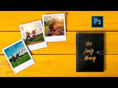 Photoshop Tutorial: How to make photo collage