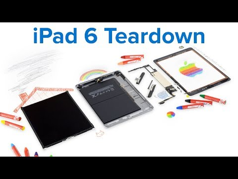 iPad 6 Teardown!