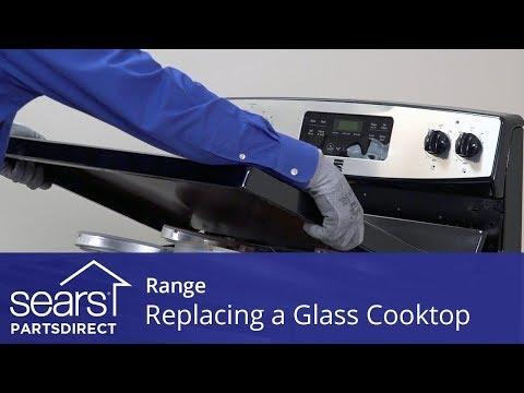 Replacing a Range Glass Cooktop